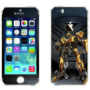 Виниловая наклейка «Бaмблби - Трансформеры» на телефон Apple iPhone 5S
