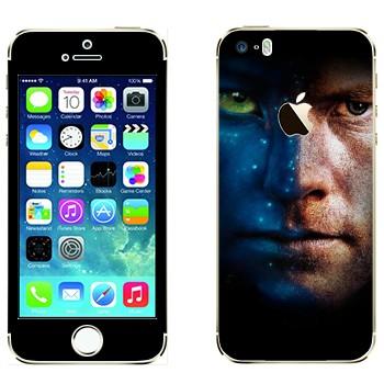 Виниловая наклейка «Джейк Салли - Аватар» на телефон Apple iPhone 5S