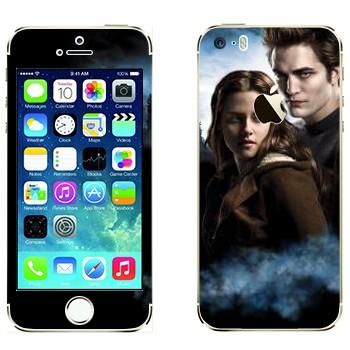 Виниловая наклейка «Эдвард и Белла - Сумерки» на телефон Apple iPhone 5S
