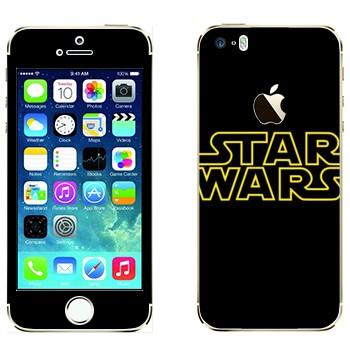Виниловая наклейка «Эмблема Star Wars» на телефон Apple iPhone 5S