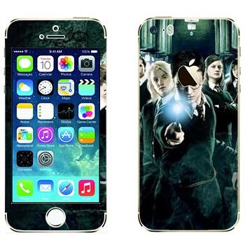 Виниловая наклейка «Гарри Поттер и Орден Феникса» на телефон Apple iPhone 5S