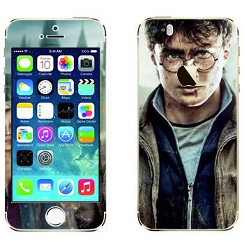 Виниловая наклейка «Гарри Поттер» на телефон Apple iPhone 5S