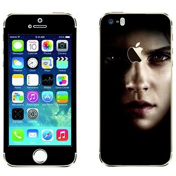 Виниловая наклейка «Гермиона Грейнджер» на телефон Apple iPhone 5S