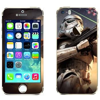 Виниловая наклейка «Клон - Звездные войны» на телефон Apple iPhone 5S