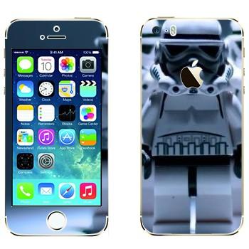 Виниловая наклейка «Клоны из Звездных войн в стиле Лего» на телефон Apple iPhone 5S