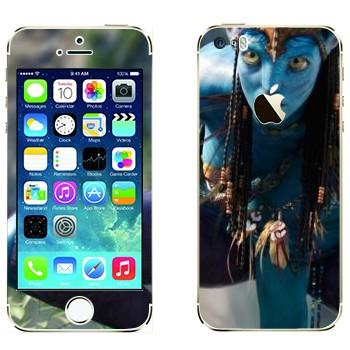 Виниловая наклейка «Нейтири те Цкаха Мо'ат'ите - Аватар» на телефон Apple iPhone 5S