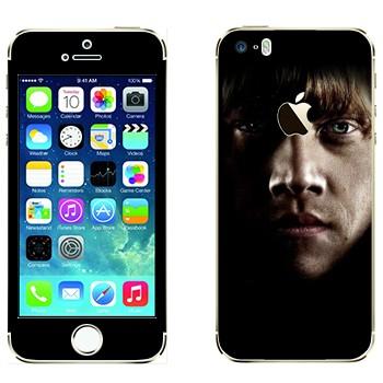 Виниловая наклейка «Рональд Уизли - Гарри Поттер» на телефон Apple iPhone 5S