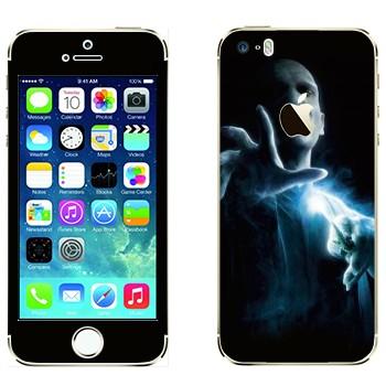 Виниловая наклейка «Волан де Морт - Гарри Поттер» на телефон Apple iPhone 5S