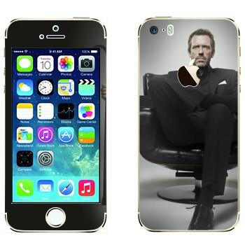 Виниловая наклейка «HOUSE M.D.» на телефон Apple iPhone 5S