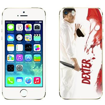 Виниловая наклейка «Декстер Морган» на телефон Apple iPhone 5S