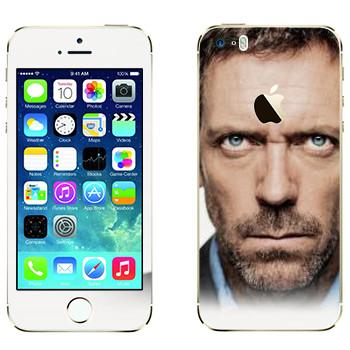 Виниловая наклейка «Доктор Хаус» на телефон Apple iPhone 5S