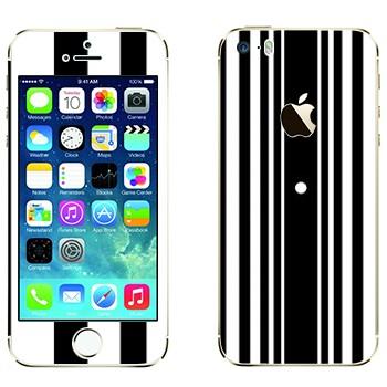 Виниловая наклейка «Эффект Доплера - Теория большого взрыва» на телефон Apple iPhone 5S