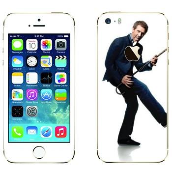 Виниловая наклейка «Грегори Хаус - Доктор Хаус» на телефон Apple iPhone 5S
