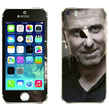 Виниловая наклейка «Кэл Лайтман - Lie to me» на телефон Apple iPhone 5S
