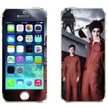 Виниловая наклейка «Отбросы 2-й сезон» на телефон Apple iPhone 5S