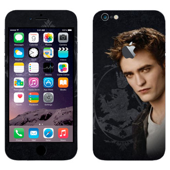 Виниловая наклейка «Edward Cullen» на телефон Apple iPhone 6 Plus/6S Plus