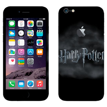Виниловая наклейка «Harry Potter логотип» на телефон Apple iPhone 6 Plus/6S Plus