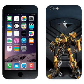 Виниловая наклейка «Бaмблби - Трансформеры» на телефон Apple iPhone 6 Plus/6S Plus