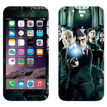 Виниловая наклейка «Гарри Поттер и Орден Феникса» на телефон Apple iPhone 6 Plus/6S Plus