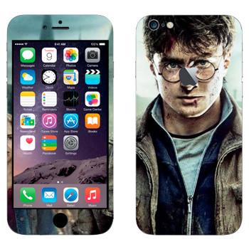 Виниловая наклейка «Гарри Поттер» на телефон Apple iPhone 6 Plus/6S Plus