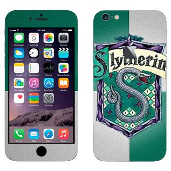 Виниловая наклейка «Герб Слизерина» на телефон Apple iPhone 6 Plus/6S Plus