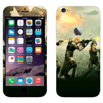 Виниловая наклейка «Запрещённый приём» на телефон Apple iPhone 6 Plus/6S Plus