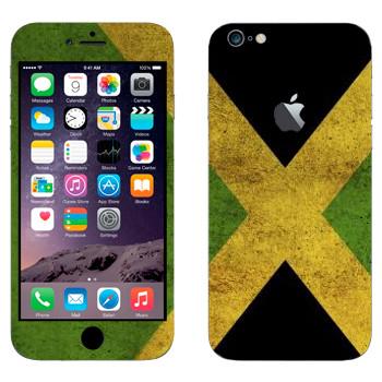 Виниловая наклейка «Ямайка» на телефон Apple iPhone 6 Plus/6S Plus