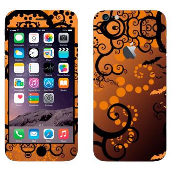 Виниловая наклейка «Хэллоуин тема» на телефон Apple iPhone 6 Plus/6S Plus