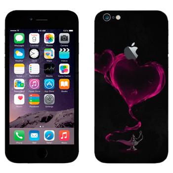 Виниловая наклейка «Валентинка из лампы Алладина» на телефон Apple iPhone 6 Plus/6S Plus