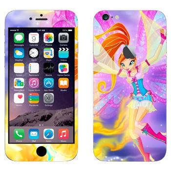 Виниловая наклейка «Блум - Winx Club» на телефон Apple iPhone 6 Plus/6S Plus