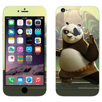 Виниловая наклейка «По - Большая панда - Кунг-фу Панда» на телефон Apple iPhone 6 Plus/6S Plus