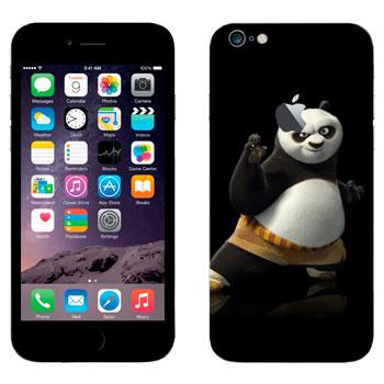 Виниловая наклейка «По - Кунг-фу Панда» на телефон Apple iPhone 6 Plus/6S Plus