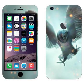 Виниловая наклейка «Сова в железной маске - Легенды ночных стражей» на телефон Apple iPhone 6 Plus/6S Plus