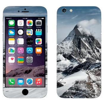 Виниловая наклейка «Эверест» на телефон Apple iPhone 6 Plus/6S Plus