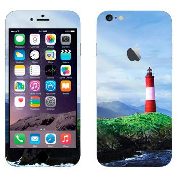 Виниловая наклейка «Маяк на скале» на телефон Apple iPhone 6 Plus/6S Plus