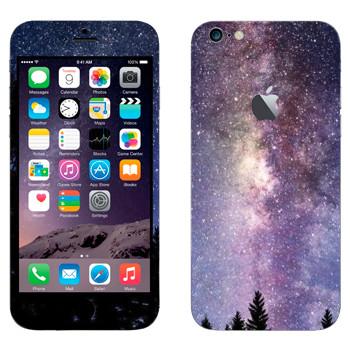 Виниловая наклейка «Млечный Путь - вид с Земли» на телефон Apple iPhone 6 Plus/6S Plus
