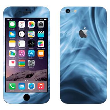 Виниловая наклейка «Синий дым» на телефон Apple iPhone 6 Plus/6S Plus