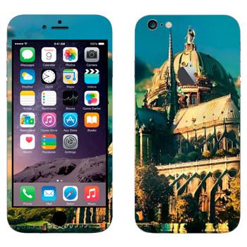 Виниловая наклейка «Сказочный замок» на телефон Apple iPhone 6 Plus/6S Plus