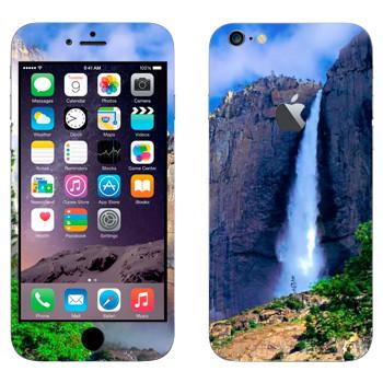 Виниловая наклейка «Водопад» на телефон Apple iPhone 6 Plus/6S Plus
