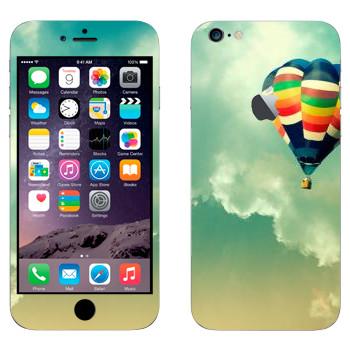 Виниловая наклейка «Воздушный шар в небе» на телефон Apple iPhone 6 Plus/6S Plus