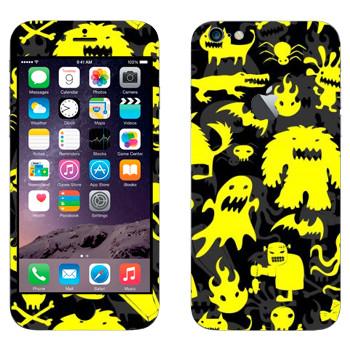 Виниловая наклейка «Желтая нечисть» на телефон Apple iPhone 6 Plus/6S Plus