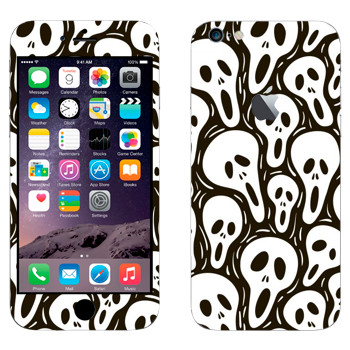 Виниловая наклейка «Маски Крик» на телефон Apple iPhone 6 Plus/6S Plus