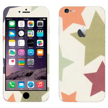 Виниловая наклейка «Орнамент звезды» на телефон Apple iPhone 6 Plus/6S Plus