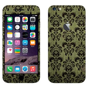 Виниловая наклейка «Старые обои» на телефон Apple iPhone 6 Plus/6S Plus