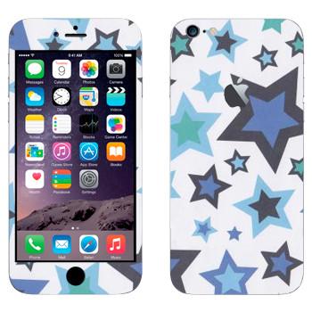 Виниловая наклейка «Звезды» на телефон Apple iPhone 6 Plus/6S Plus