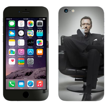 Виниловая наклейка «HOUSE M.D.» на телефон Apple iPhone 6 Plus/6S Plus