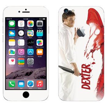 Виниловая наклейка «Декстер Морган» на телефон Apple iPhone 6 Plus/6S Plus