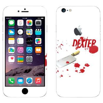 Виниловая наклейка «Декстер» на телефон Apple iPhone 6 Plus/6S Plus