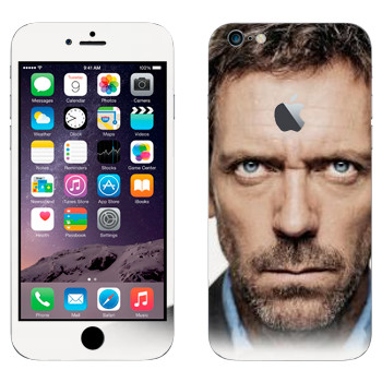 Виниловая наклейка «Доктор Хаус» на телефон Apple iPhone 6 Plus/6S Plus