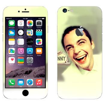 Виниловая наклейка «Доктор Шелдон Ли Купер» на телефон Apple iPhone 6 Plus/6S Plus